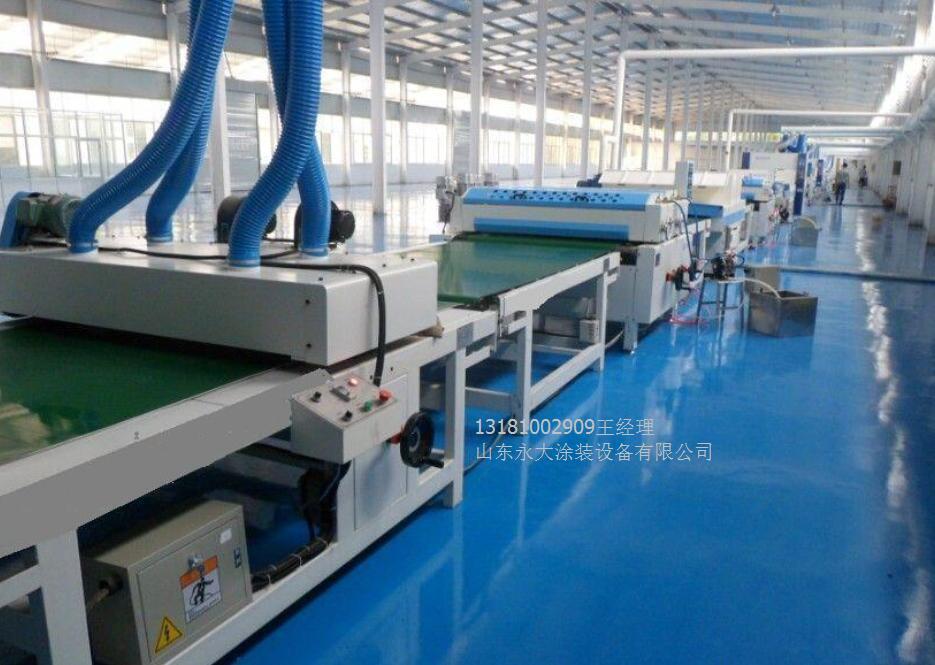 一体板设备生产线