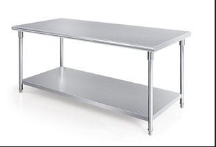 不锈钢双层平板工作台做工精细