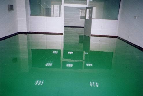 環氧防靜電自流平地坪涂裝系統
