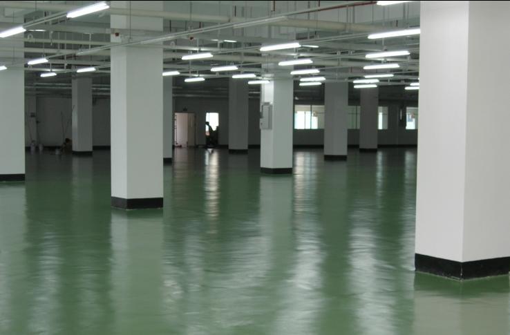 水性聚氨酯砂漿地坪涂裝系統