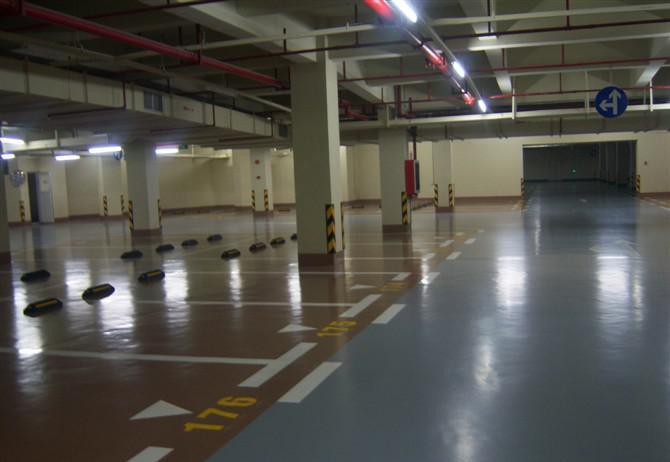 經濟型停車場地坪涂裝系統