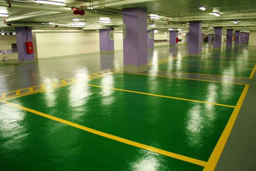超止滑停車場地坪涂裝系統