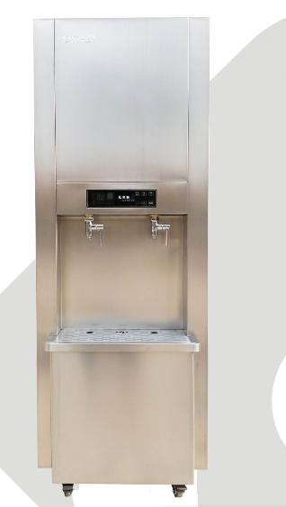 亿美嘉GX3步进式柜式一体机开水器商用电开水机高档豪华热水器