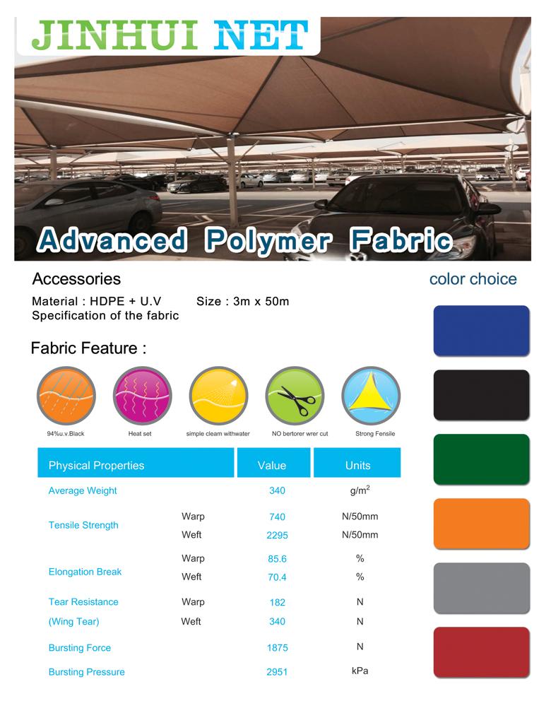Advanced Polymer Fabric