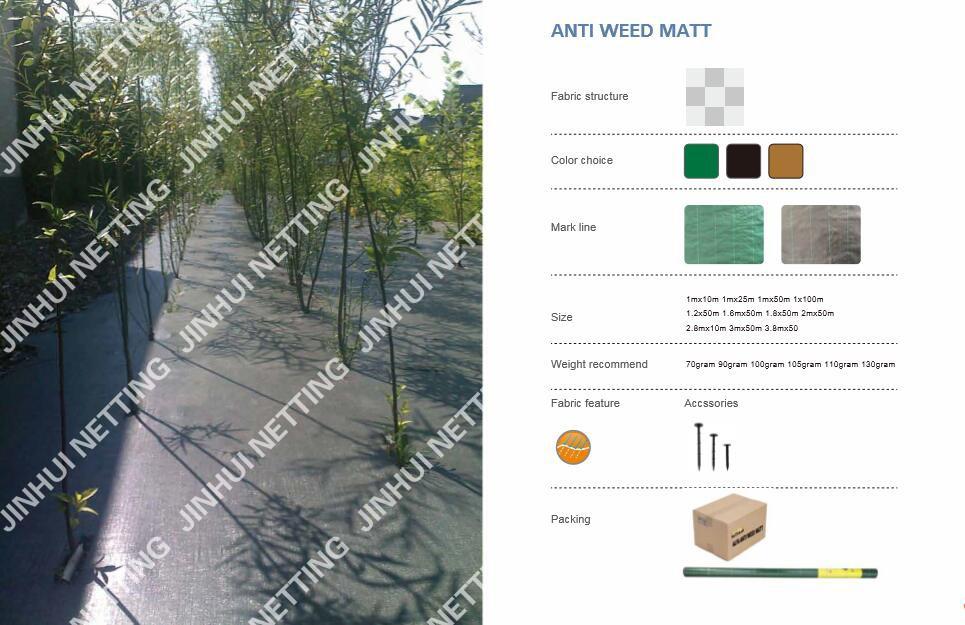 anti   weed  matt