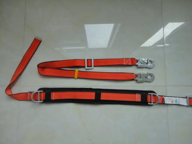 Single waist belt