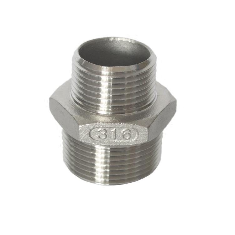 不锈钢管件-异径外牙接头