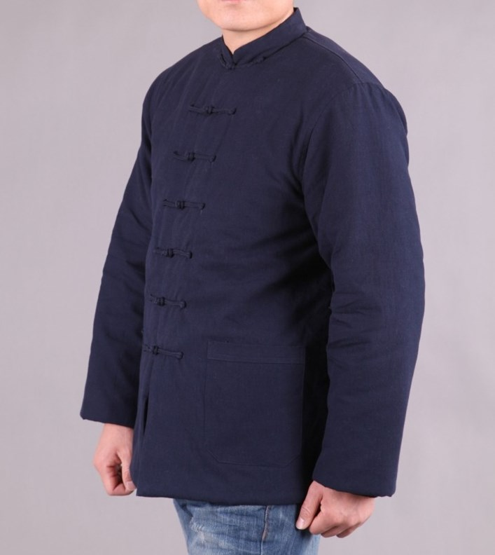 纯棉老粗布棉袄/纯棉老粗布棉衣外套/中式唐装棉衣