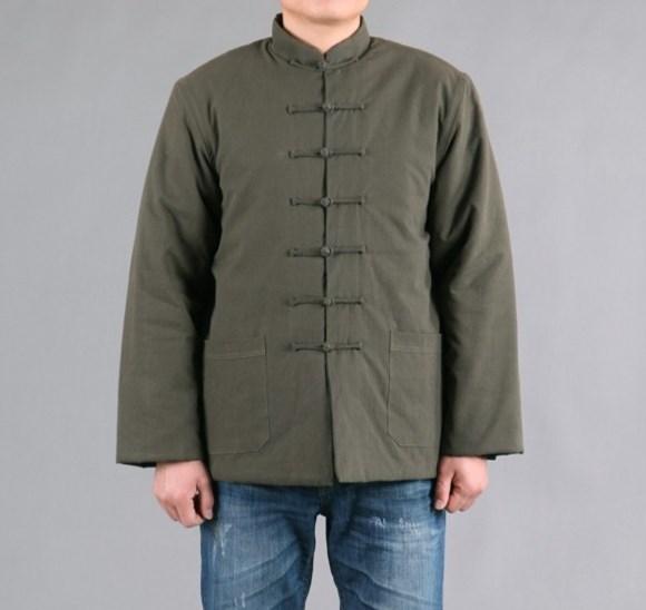 纯棉老粗布棉袄/纯棉老粗布棉衣外套/中式唐装棉衣外套