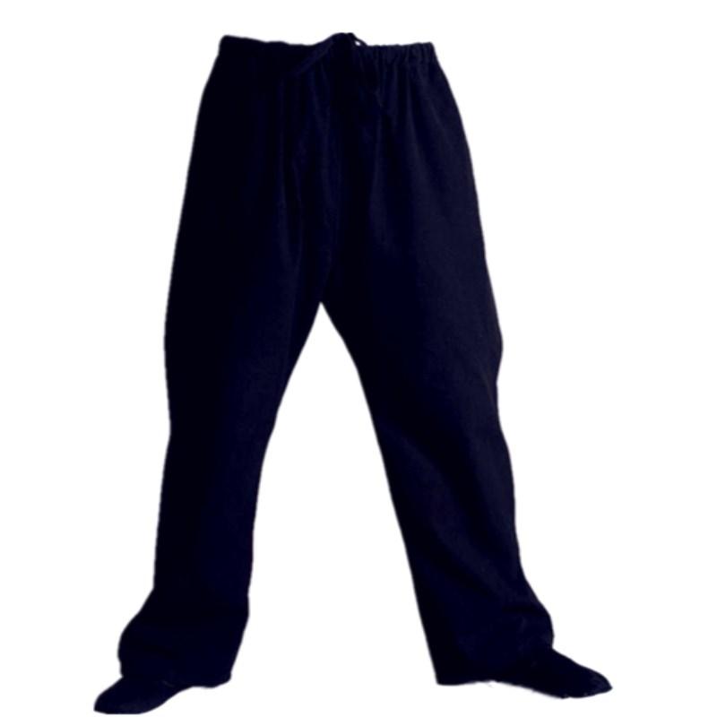 纯棉老粗布裤子休闲裤子/纯棉粗布唐装练功裤子