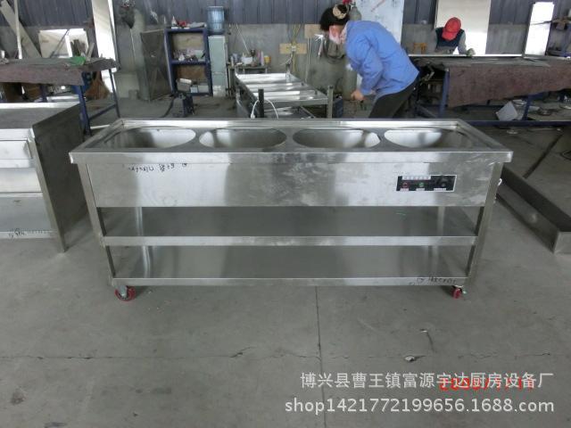不锈钢售饭台