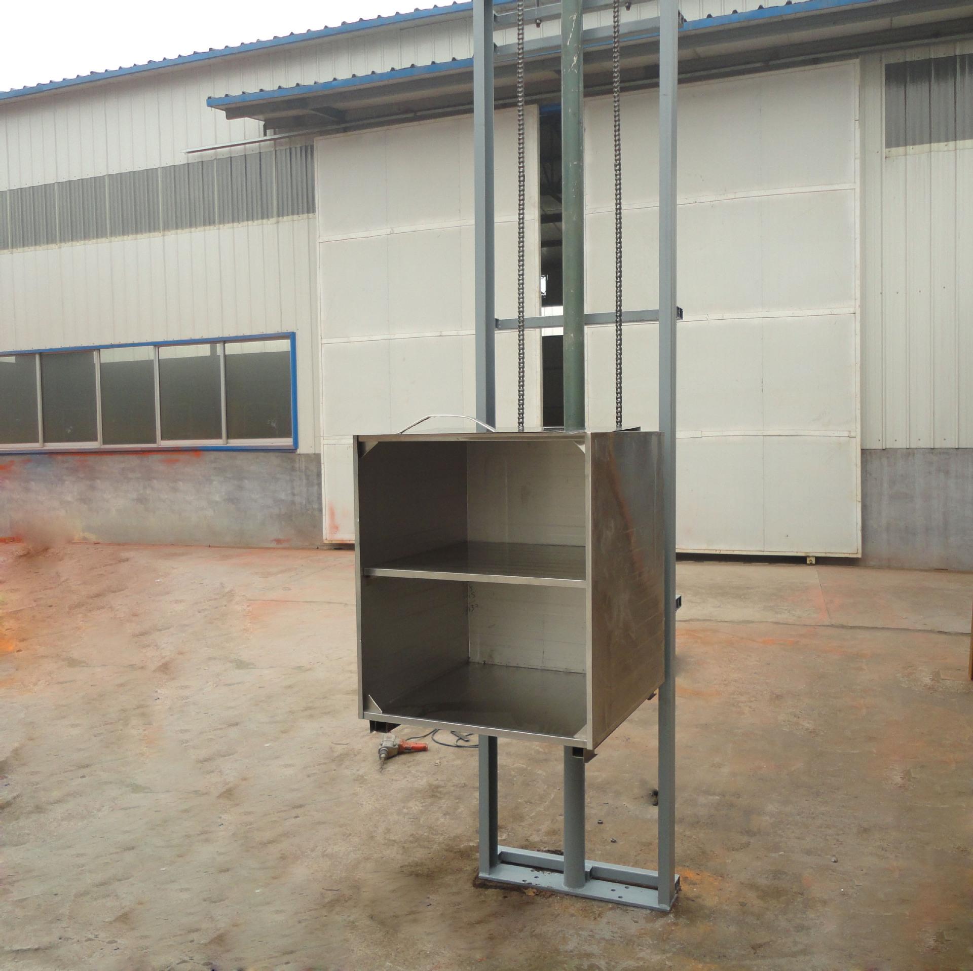 专业制造优质电动厨房传菜升降机固定剪叉式液压升降平台