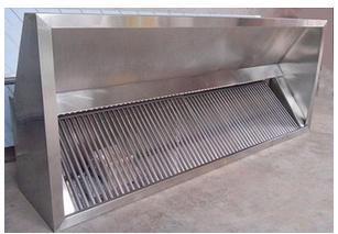304不锈钢运水烟罩,厨房专用烟罩