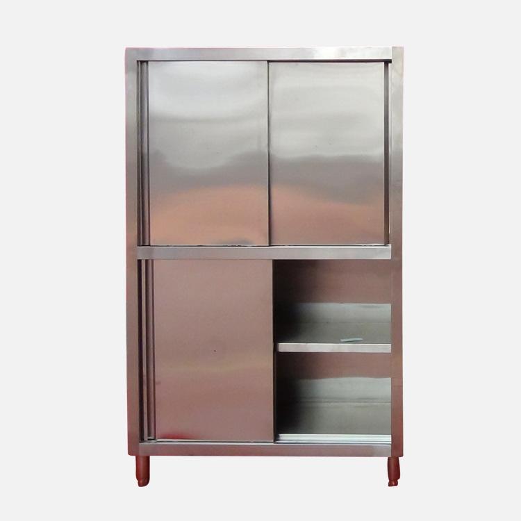 不锈钢储物柜酒店饭店厨房储物柜豪华保洁碗柜