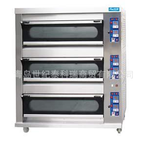 燃气型三层烤箱层次烤炉食品面包烘焙设备