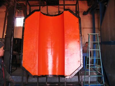 单片的聚乙烯浮体体