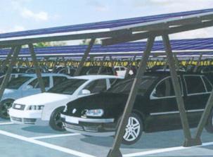 太阳能车棚