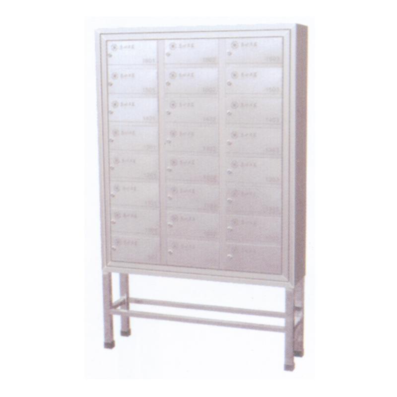 不锈钢二十四门信报箱