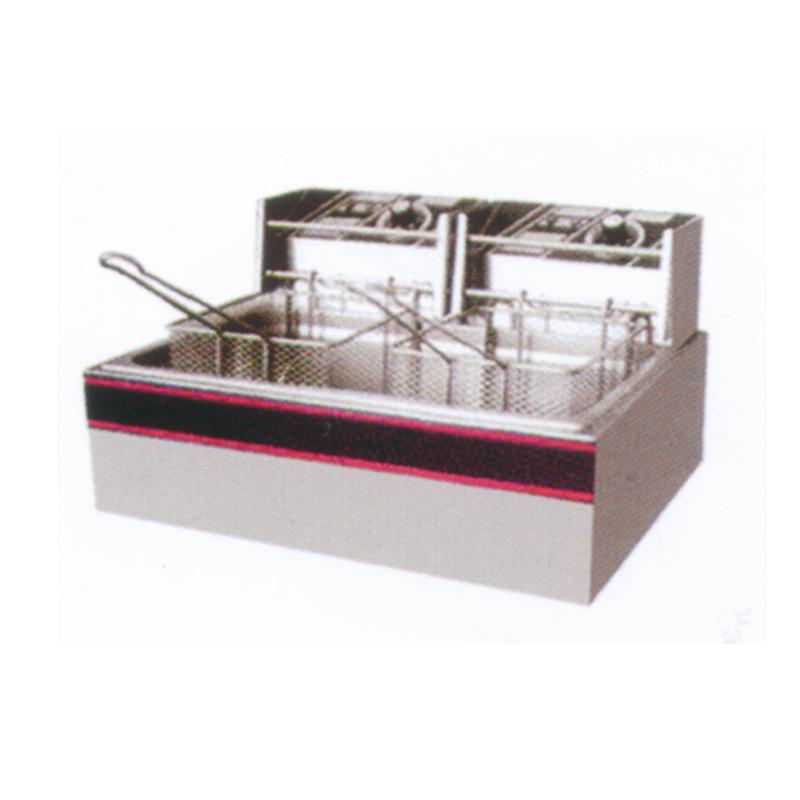 单缸单筛电炸炉