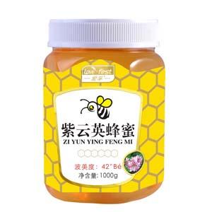 紫云英蜂蜜(一瓶1000g)