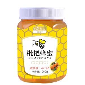 枇杷蜂蜜(一瓶1000g)