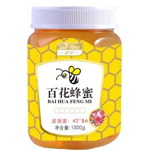 百花蜂蜜(一瓶1000g)