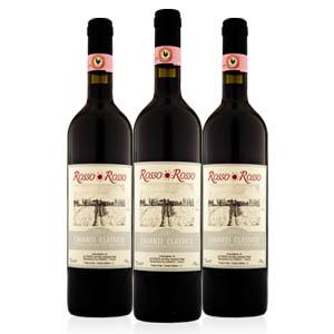 红与红 经典奇扬第红葡萄酒/意大利原装进口/售价为单瓶/一箱6瓶