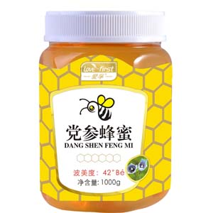 党参蜂蜜(一瓶1000g)