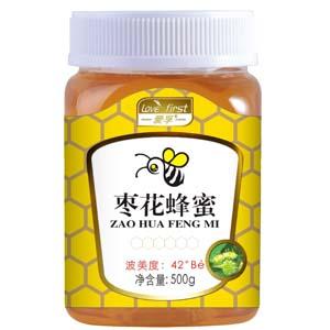 枣花蜂蜜(一瓶500g)