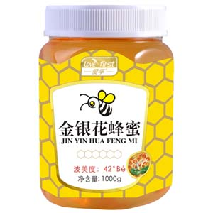金银花蜂蜜(一瓶1000g)