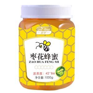 枣花蜂蜜(一瓶1000g)