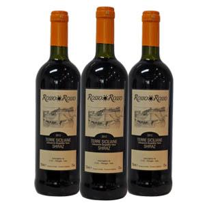 红与红 席拉干红葡萄酒/意大利原装进口/售价为单瓶 6瓶一箱