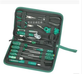正品世达19件电子维修组套、电工工具套装、03720