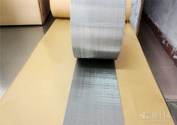 厂家直销挤出机反差席型网带|塑料拉丝机过滤网带10米20米