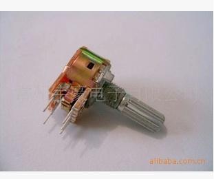 16mm单联带开关电位器汽车音响 0.85元/个