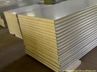 岩棉净化彩钢复合板(A级防火板)