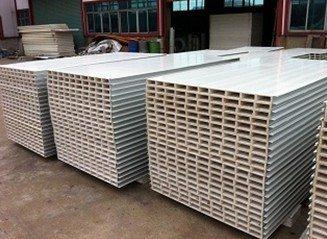 中空玻镁净化彩钢复合板(A级防火板)