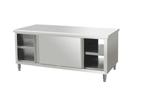 拉门工作台  双通打荷台  调理设备 商用厨具