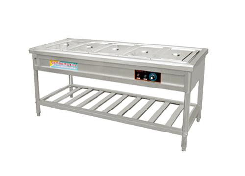 组装 焊接五格保温工作台  商用厨具