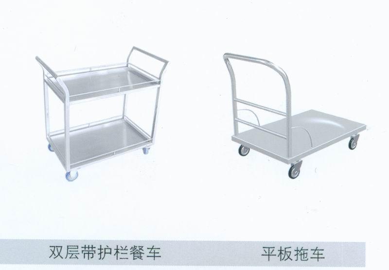 双层餐车平板车商用厨具厨具酒店用品调理设备